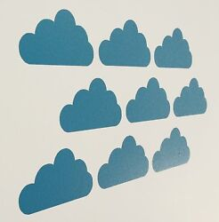 Fun Cloud Vinyl Wall Art Decals Stickers Various Colours amp; Sizes