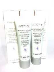 Mary Kay Medium Coverage Foundationgray/pink Capnormal And Oily Skincontrol Oil