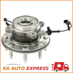 Front Wheel Hub And Bearing Assembly Set For Left Or Right Side 4wd Srw