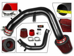 Cold Air Intake Kit Matt Black + Red Filter For 04-08 Acura Tsx 2.4 L4 3