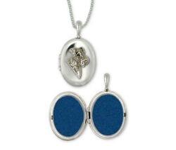 Airedale Terrier Photo Locket Jewelry Sterling Silver Handmade Dog Photo Locket