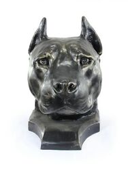 American Staffordshire terrier cropped big head Art Dog Limited Edition USA