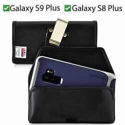 Galaxy S10+ S9+ S8+ A30 A20 A50 Holster Belt Clip Pouch Horizontal Turtleback