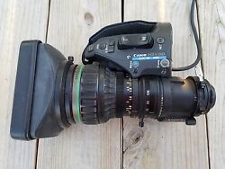Canon Hj 16x8 Hd Xs Irsd Hd Broadcast Lens For Camcorder 2/3 Inch