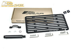 Eos Plate For 15-17 Vw Golf R No Pdc Full Sized Front Tow Hook License Bracket
