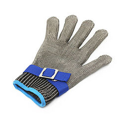 Quality Safety Cut Proof Stab Resistant Stainless Steel Metal Mesh Butcher Glove