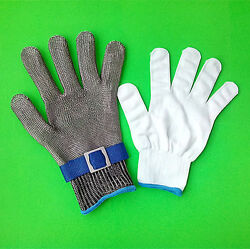 Safety Glove Cut Proof Stainless Steel Metal Mesh Butcher Knife High Performance