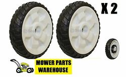2 New Replacement Toro 8 Inch Rear Wheels Drive Wheels 22 Recycler 115-4695