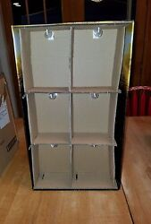 The Walking Dead Series 2 Action Figure Store Display With Original Shipping Box