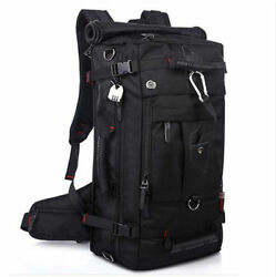 Men Travel Backpack Large 40L Shoulder Bag Multi-functional Waterproof Bags