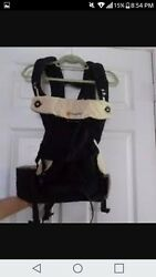 Ergo Baby 360 Carrier 100 Authentic Black Camel Four Position Gently Used