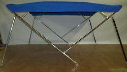 Bimini Top 7and0396 Long Stainless Steel Frame - Sunbrella - You Pick The Color