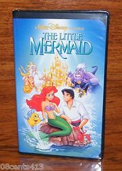 The Little Mermaid (Disney VHS) Banned Discontinued Cover Rare 1st Issue Label