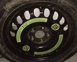 Bentley Continental Gt Spur Donut Temporary Spare Wheel Oem T155/70r17