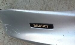 Brabus Front Add On Lip W219 Mbz Cls 2005-09 Made By Brabus Germany Genuine