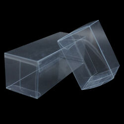 Many Sizes Clear Pvc Wedding Party Baby Shower Favor Gift Craft Candy Boxes