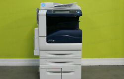 Xerox Workcentre 7855i Laser Color Bw Printer Scanner Copier 55ppm A3 Mfp 7845i