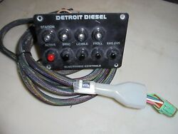Detroit Diesel 23517557 Electronic Control Panel Assembly.