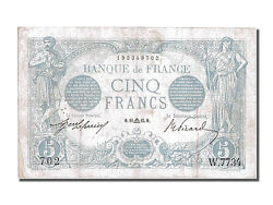 [200964] France 5 Francs 5 F 1912-1917 And039and039bleuand039and039 1915 Km 70 1915-09-11