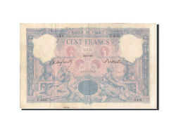 [207609] France 100 Francs 100 F 1888-1909 And039and039bleu Et Roseand039and039 1890 Km65b