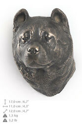 Akita Inu, Dog Statuette To Hang On The Wall, Art Dog Limited Edition, Ca