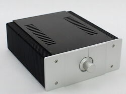 New Power Amplifier Aluminum Chassis Diy Hifi Project Case 26022290mm