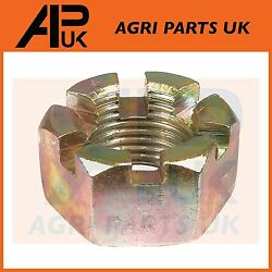 Ford 2000 2600 3000 3600 4000 4600 Tractor Lift Arm Mounting Pin Castle Nut 5/8