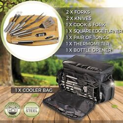 New Easy Take Bbq Tools And Drinks Storage Water Proof Bag Enjoy Grill Smoke Bbq