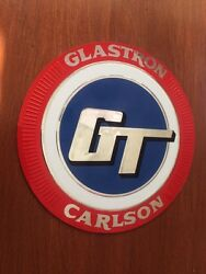 Exact Reproduced Glastron Carlson Gt Bow Decal With 3m Rigid Backing