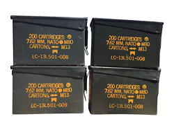 30 Cal Ammo Can - Grade 1 - 4 Pack
