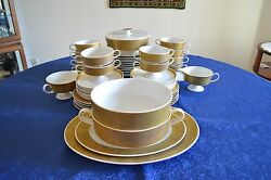 1960 Rosenthal 12 Person Dinner Set Model Tapico Special Edition Limiited