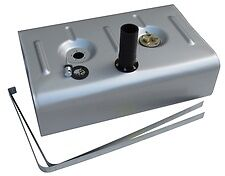 Tanks Inc Utss-2ht Universal Pickup Stainless Steel Gas Tank W/ 2 Neck And Hose