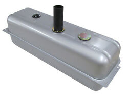 Tanks Inc 39dp-uh Universal Pickup Steel Fuel Gas Tank W/ 2 Neck And Hose