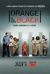 ORANGE IS THE NEW BLACK Poster Licensed NEW USA 27x40quot; Theater Size Netflix