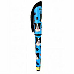 Border Collie Dog Lovers Pen Refillable Gift Puppy E & S Pets Many Breeds