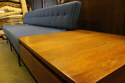 Vintage Mid-Century SofaEnd Table Combination Designed by Florence Knoll 120