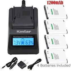 EN-EL19 Battery & Fast Charger for Nikon Coolpix S6600 S6700 S6800 S6900 S7000