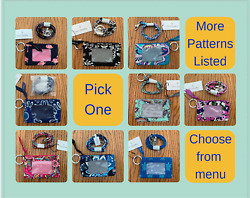 Vera Bradley Zip ID Case AND Lanyard Combo -- New with tags - Choices! $20.00