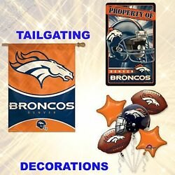 Buy 1 Get 1 50 Off Add 2 To Cart Nfl Denver Broncos Tailgating And Decorations