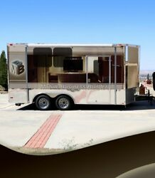 Brand new Mobile Barbershop offering quality finishes and efficient  design.