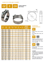 Bolt Hose Clamp Robust Choose Hose Diameter From 100 Type Packitaly