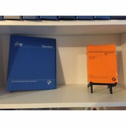 Rare 2 Books Bmw Motorcycle Factory Service Manual And Parts Book 50/5 60/5 75/5
