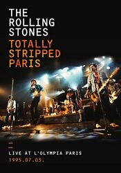 Rolling Stones Totally Stripped Live At Land039olympia Paris And03995.7.3 Japan Dvd + 2cd