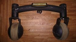Rear Caster Wheels And Tires Quantum 600 Casters Power Chair Frame Wheelchair