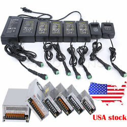 AC TO DC 12V 1A-50A Switch Power Supply Driver Adapter 3528 5050 LED Strip Light