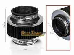3 Cold Air Intake Bypass Valve Filter Black For Airstream/conquest/crossfire