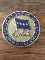 General Roger Brady 33rd Commander Us Air Forces In Europe Usafe Challenge Coin