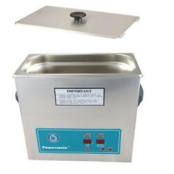 Crest Powersonic Ultrasonic Cleaner 1 Gallon Timer And Heat P360h-45 And Basket