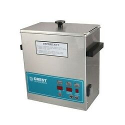 Crest Powersonic Ultrasonic Cleaner 1 Gallon Digital Timer, Heat, Pc And Basket