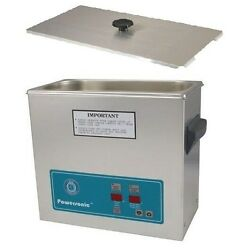 Crest Powersonic Ultrasonic Cleaner 1.5 Gallon Timer And Heat P500h-45 And Basket